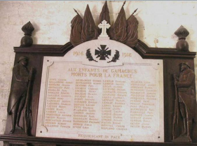 plaque eglise gamaches menival