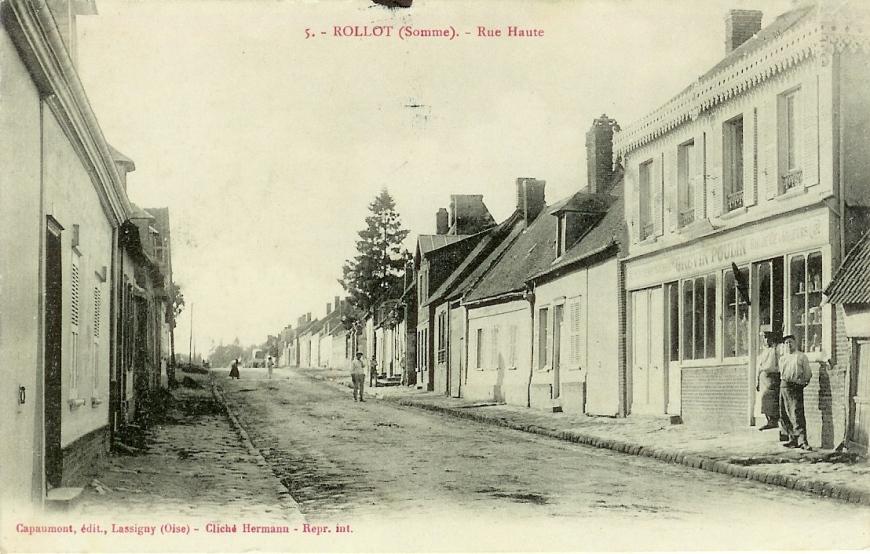 Rue du Tournant jusque mars 1918