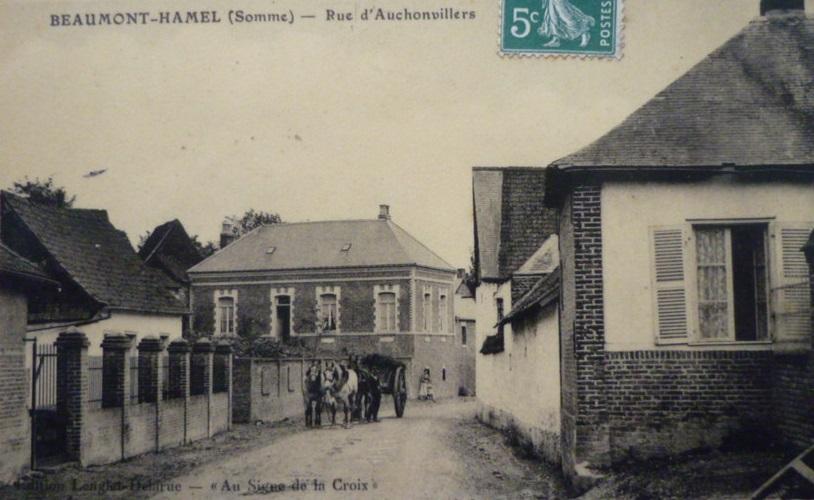 Beaumont - Rue Auchonvillers