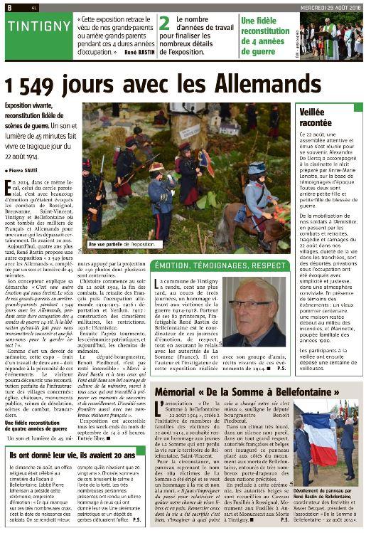Avenir du Luxembourg page complete