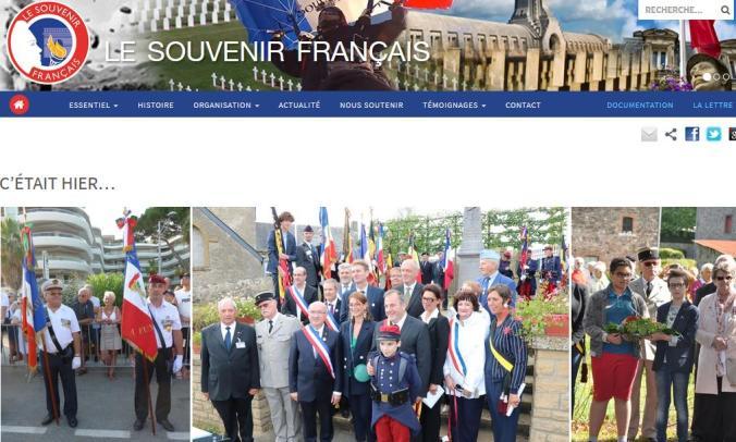 Souvenir Français Lettre Nationale