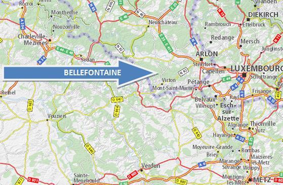 localisation bellefontaine