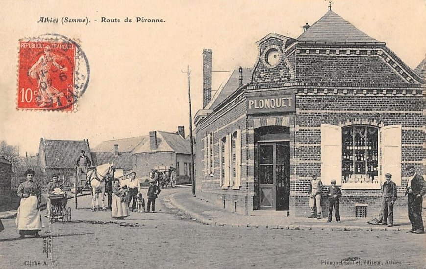 Athies Route de Peronne