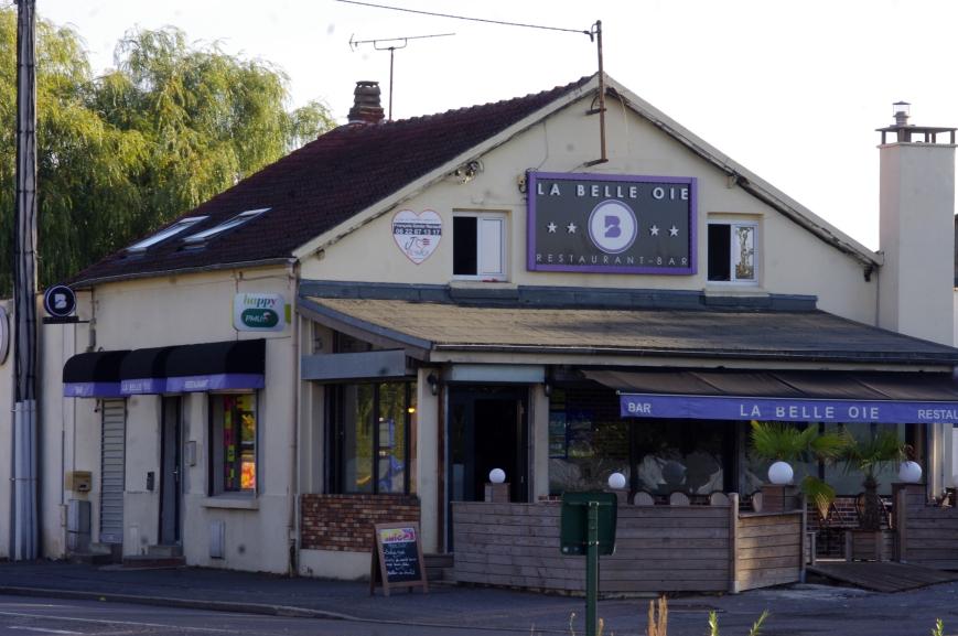 Belloy-en-F Maison Neuve photo actuelle du lieu de naissance de Danielle