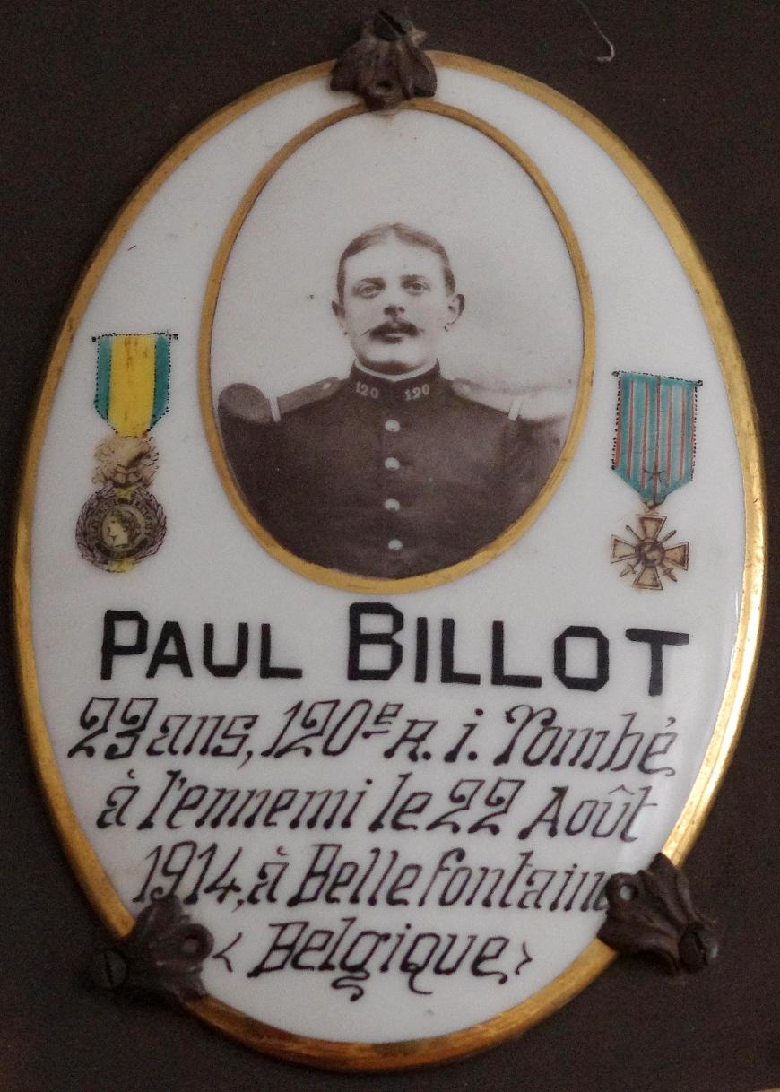 BILLOT Paul Desire