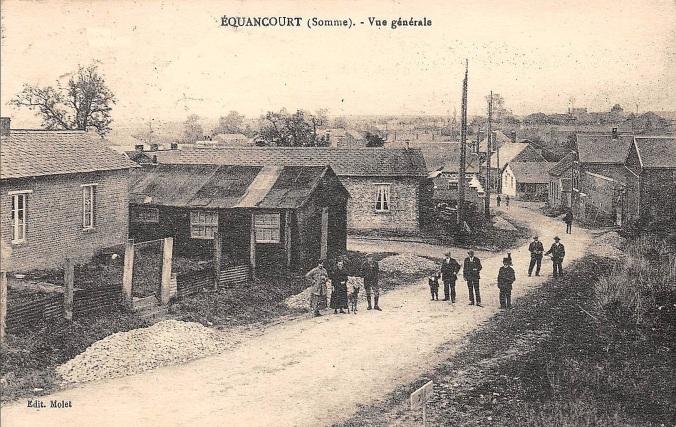 Equancourt - Vue generale