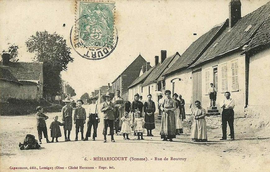 Meharicourt Rue de Rouvroy