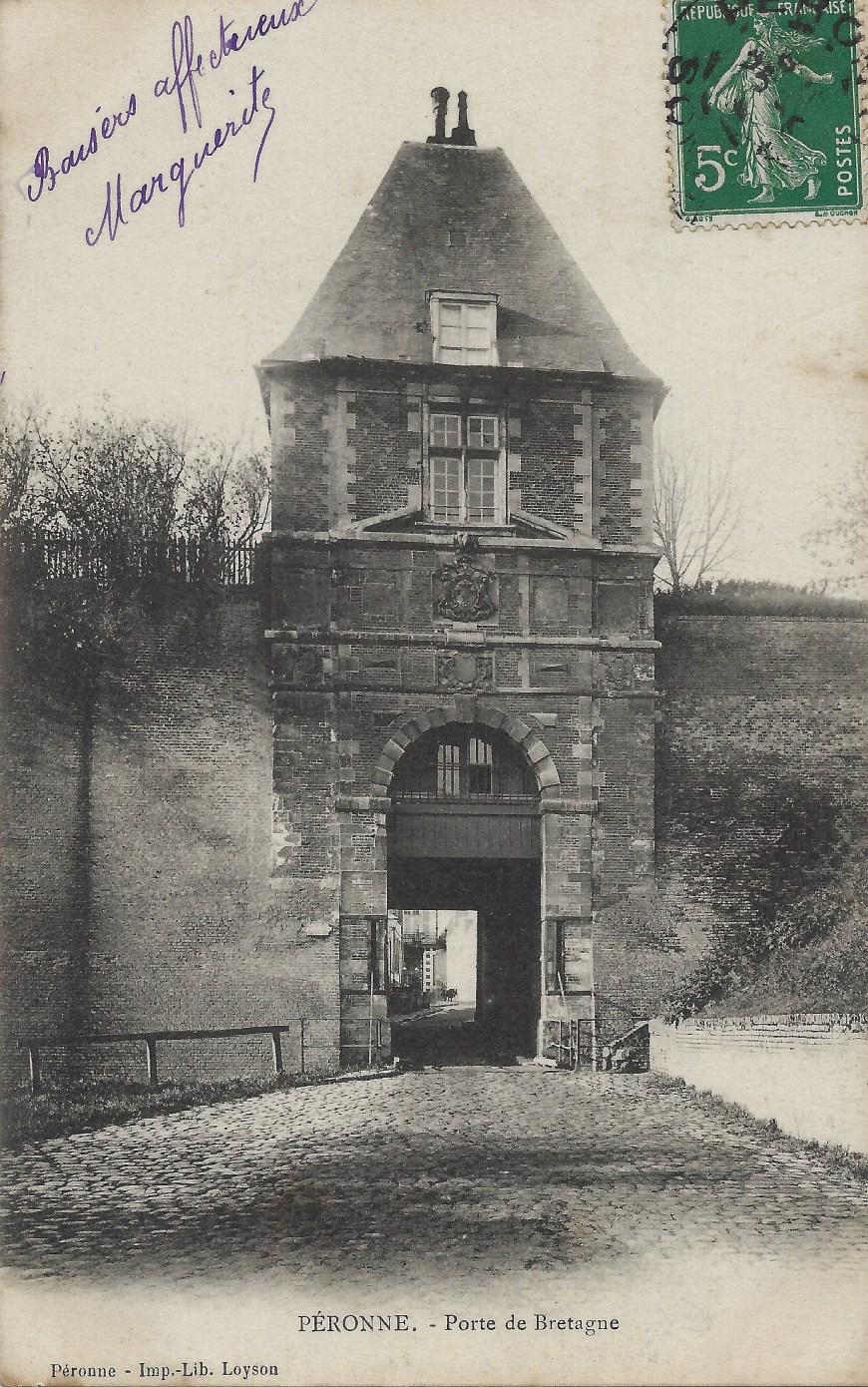 Peronne - Porte de Bretagne