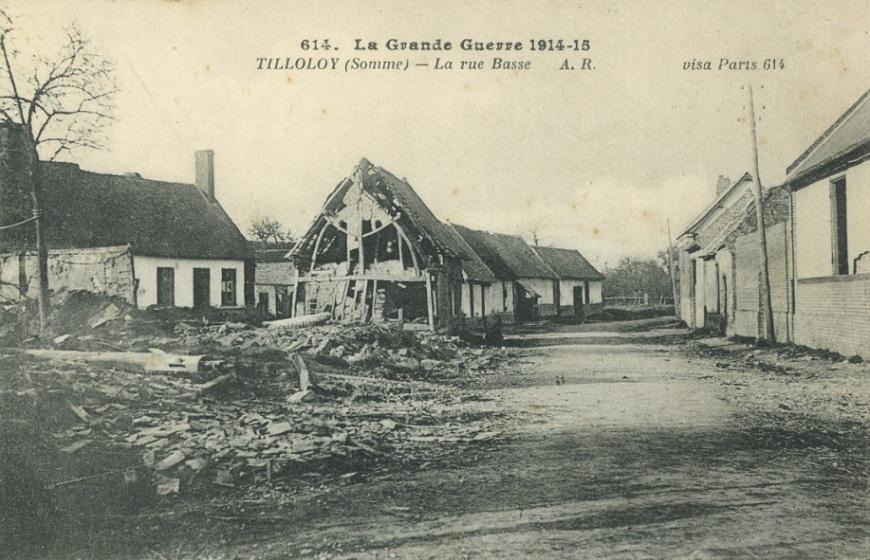 tilloloy - rue basse