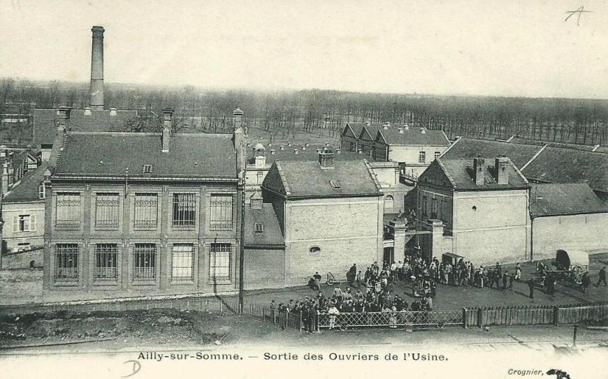 Ailly-sur-Somme Sortie des Ouvriers de l'Usine