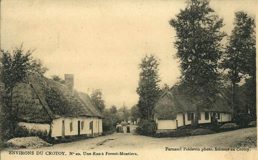 Forest-Montiers une rue