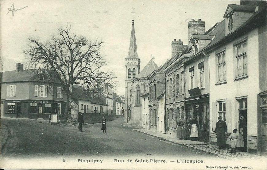 Picquigny Rue de St-Pierre
