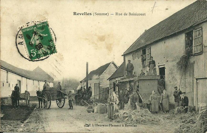 Revelles rue de Boisicourt