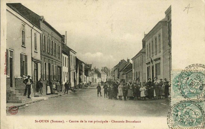 Saint-Ouen Chaussee Brunehaut