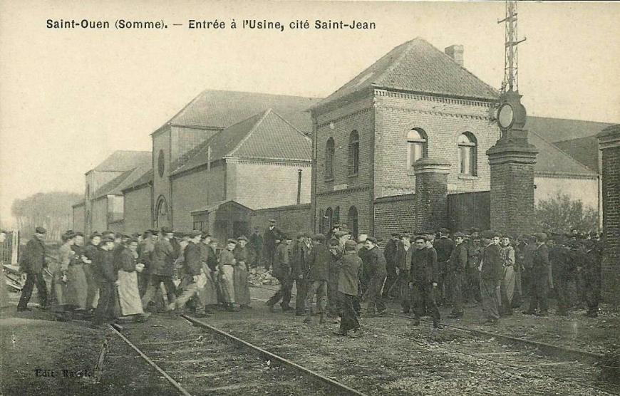 Saint-Ouen entre a l'Usine Saint