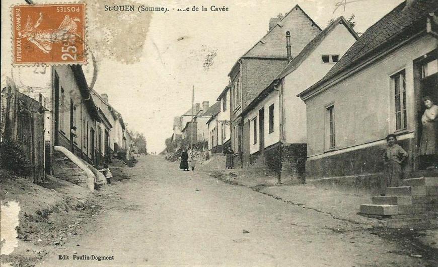 Saint-Ouen Rue de la Cavee