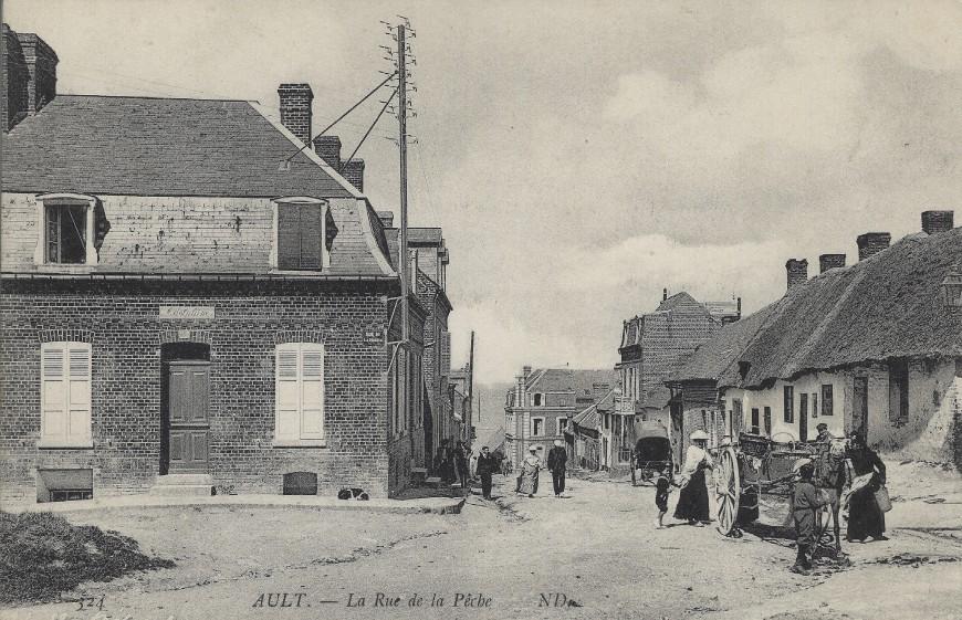 Ault rue de la Pêche