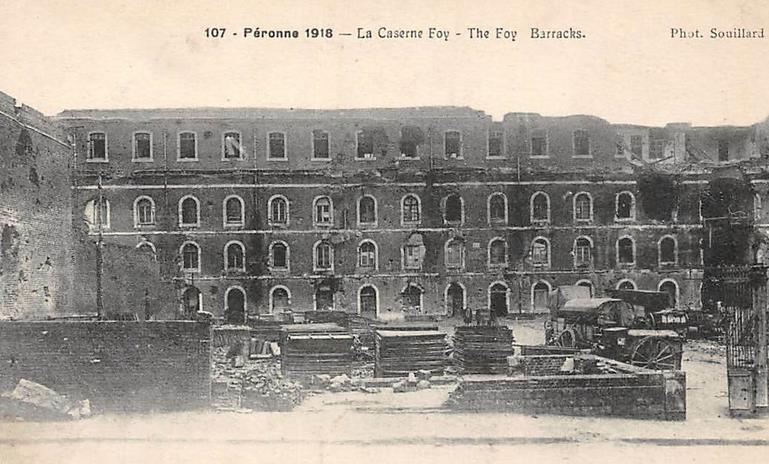 caserne Foy 1918