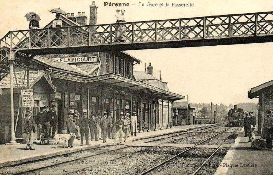 gare de flamicourt
